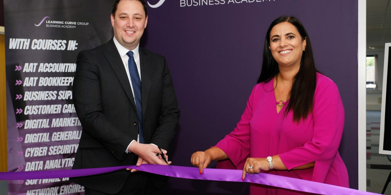Tees Valley Mayor Ben Houchen officially opens Learning Curve Group's business academy