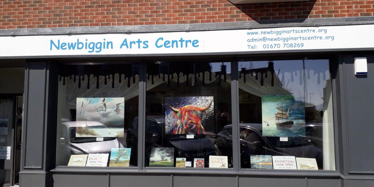 Putting creativity at the heart of Newbiggin's community