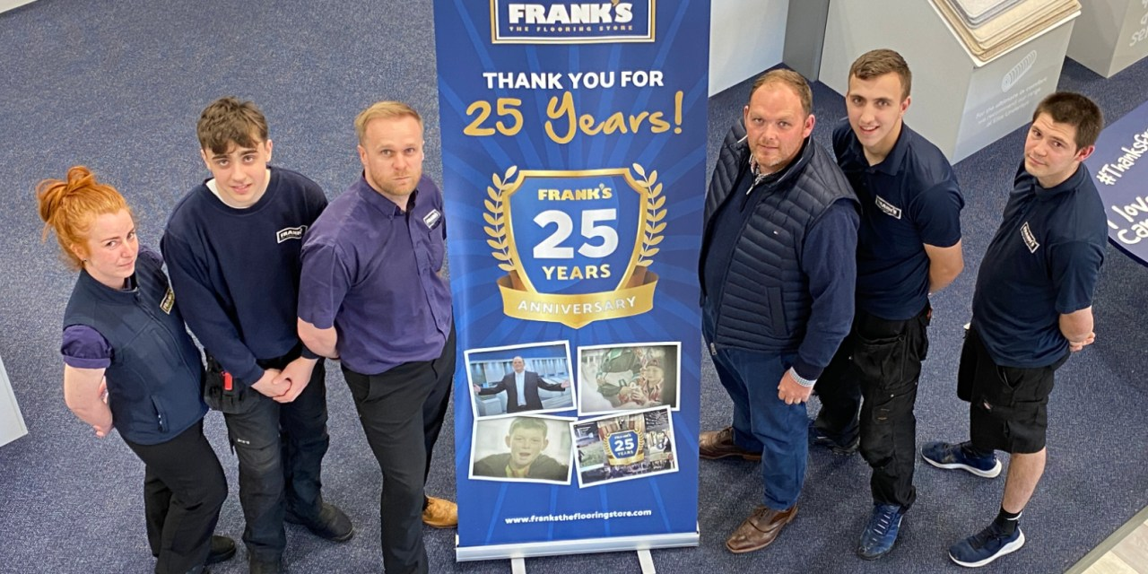 Frank's the Flooring Store celebrates 25 years in business