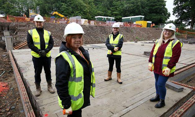Work on specialist £4m housing development underway in Newcastle