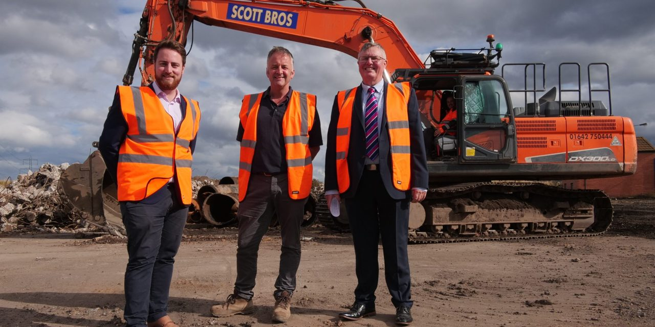 Scott Bros invest £4m in England's largest washplant