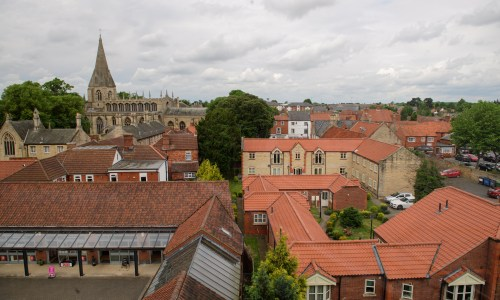 Sleaford rooftops