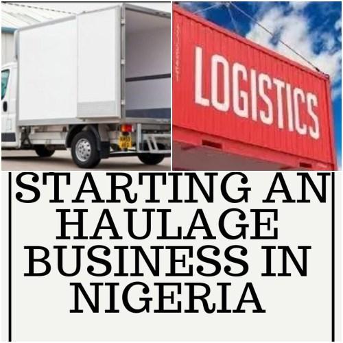 Haulage logistics business plan in nigeria