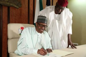 VIDEO: Buhari Resumes, Writes National Assembly