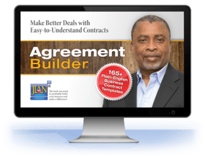 Agreement Builder sample legal business contract templates edit in word