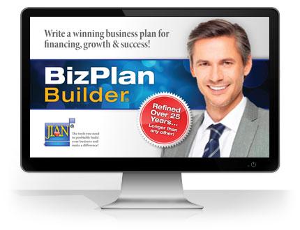 cloud-based BizPlanBuilder business plan software template online