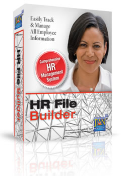 HR employee data record keeping database software