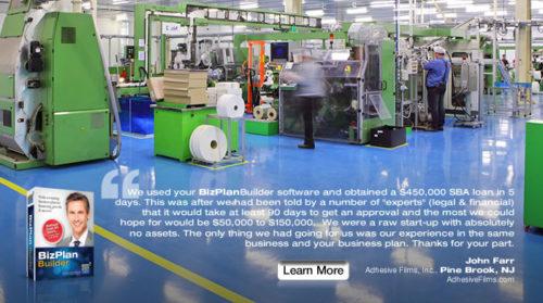 best free BizPlanBuilder business plan software template SBA loan