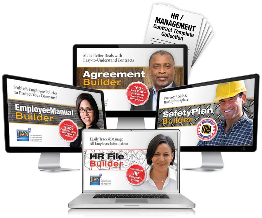 employee manual software template handbook word cloud policies policy hiring