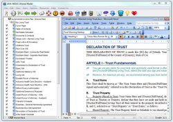 Edit your living trust templates