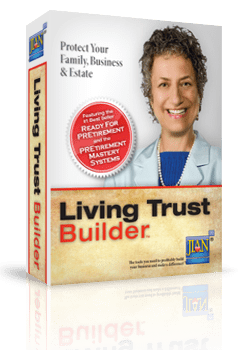 JIAN Living Trust Builder estate planning software template for business owners