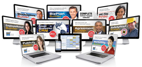 JIAN small business software template online consultants coaches