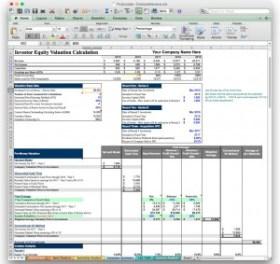 jian business plan software excel template valuation