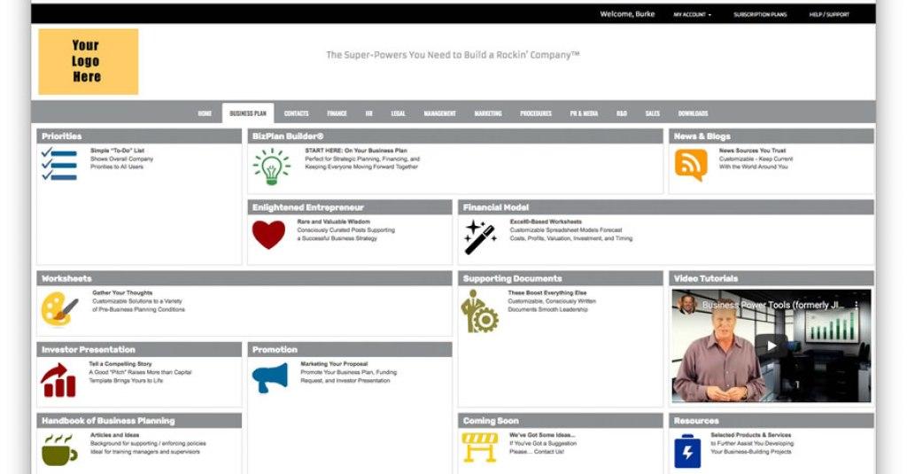 bizplan builder liveplan growthink planwrite masterplan business plan pro software template dashboard
