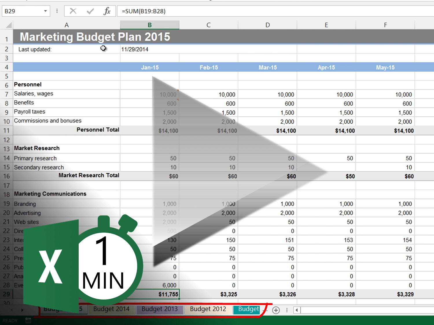 How To Navigate Worksheets In Excel