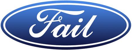 شعار فورد الفاشل
