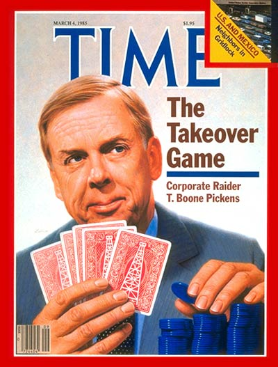 Time Life Cover T. Boone Pickens