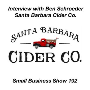 Santa Barbara cider interview