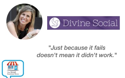 Traci Reuter – Founder of Divine Social – Small Business Show Episode 303