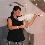 The stone-violin by Holland Graniet at the Stone+tech 2007.