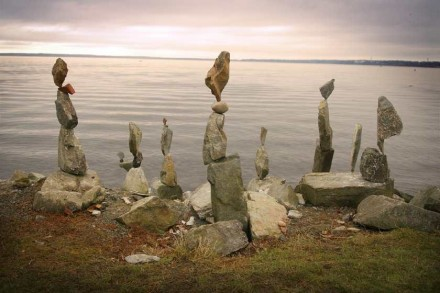 Stonestacking by Shane Hart.