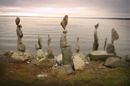 Steinstapel von Shane Hart.