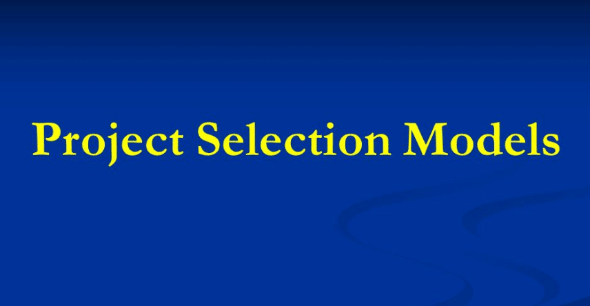 Tips On Project Selection