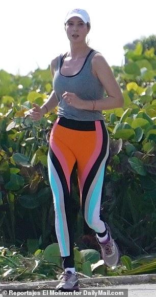 Ivanka runs