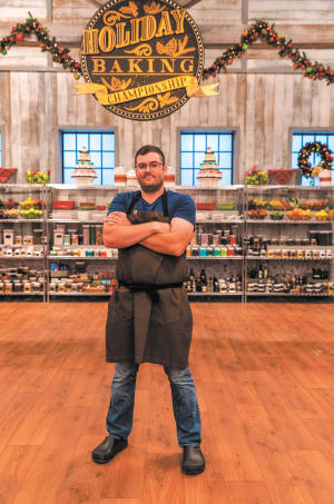"""Douglas Phillips, an Ayer resident and culinary professor at North Shore Community College, won Food Network's annual """"Holiday Baking"""