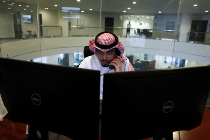 © Reuters.  Saudi Arabia shares lower at close of trade; Tadawul All Share down 0.66%
