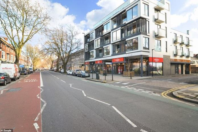 Or would you rather buy this modern two-bedroom flat in West London with the same amount of money?
