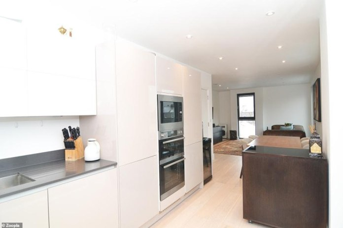 The flat is on Kings Place, moments away from the local shops and restaurants on Chiswick High Road