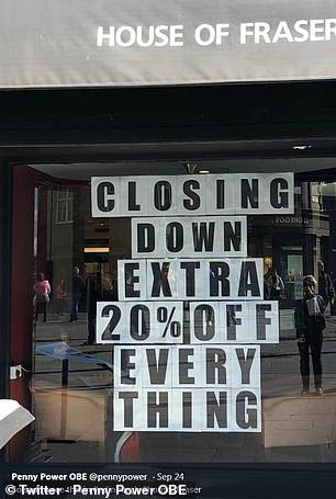Others lamented the closing-down of their nearest branch