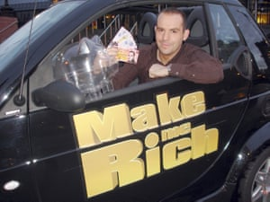 Martin Lewis promoting his ITV show in 2005