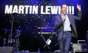 Martin Lewis on stage at a charity events at the O2 Arena in London in 2011.