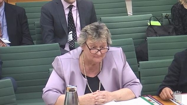 Heather Wheeler MP, Minister for Housing, speaking at the Housing, Communities and Local Government Committee