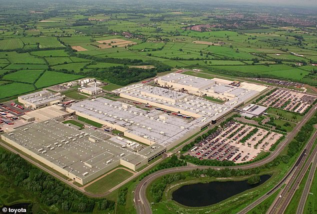Those who voted in South Derbyshire, where the Burnaston Toyota factory is located, chose leave by over 60%