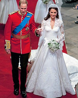 Victoria Carpeting supplied the red carpet for the Royal Wedding of William and Kate