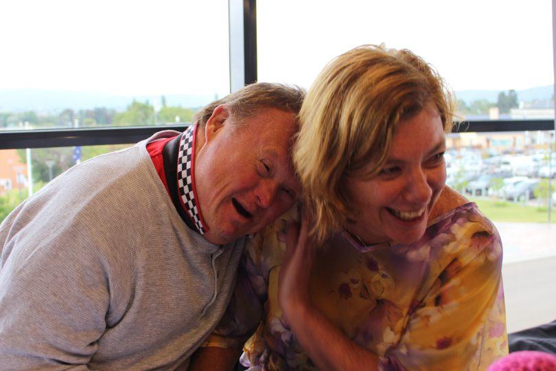 John Kivitis and Kristi Sproates, Appy Connections. Photo: Ian Campbell.