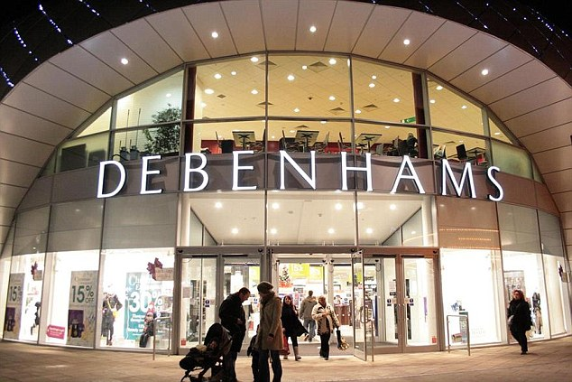 Debenhams has been in talks with lenders on a plan to refinance £150million of borrowing