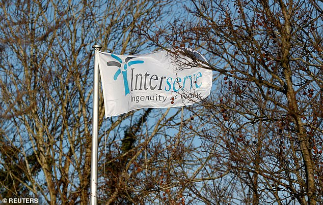 Interserve's rescue was rejected by 59 per cent to 41 per cent