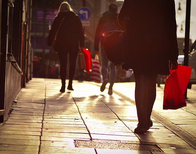 In the doldrums:The number of shoppers trudging around Britain's High Streets, shopping centres and retail parks fell to the lowest level for five years in February