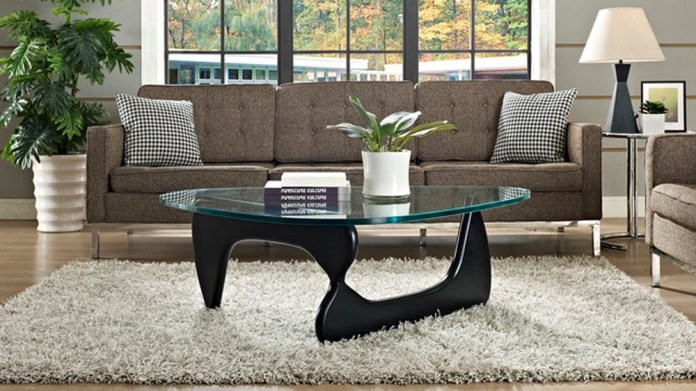 decorate your noguchi coffee table