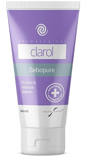 Alisha tried using SeboPure (above) after recommendations from her followers. The product retails at £12.95 for 50ml