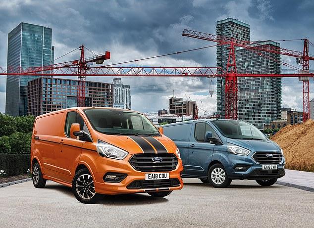 Driving sales: The popularity of online shopping and a rise in self-employed traders – with both heavily dependent on vans - has fuelled billions of pounds of van sales in the UK