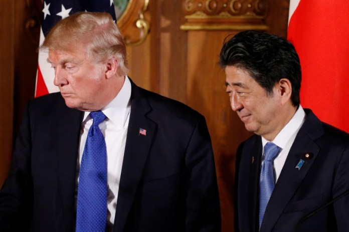 © Reuters.  President Trump Eyes August for a U.S.-Japan Deal on Trade