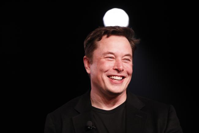 © Bloomberg. Elon Musk on March 14.