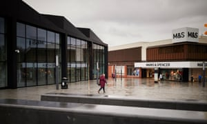 NORTHWICH, 16 January 2019 - The Marks and Spencer store in Northwich, Cheshire, one of seventeen that the company have earmarked for closure in the latest blow to high street bricks and mortar shopping. Christopher Thomond for The Guardian.