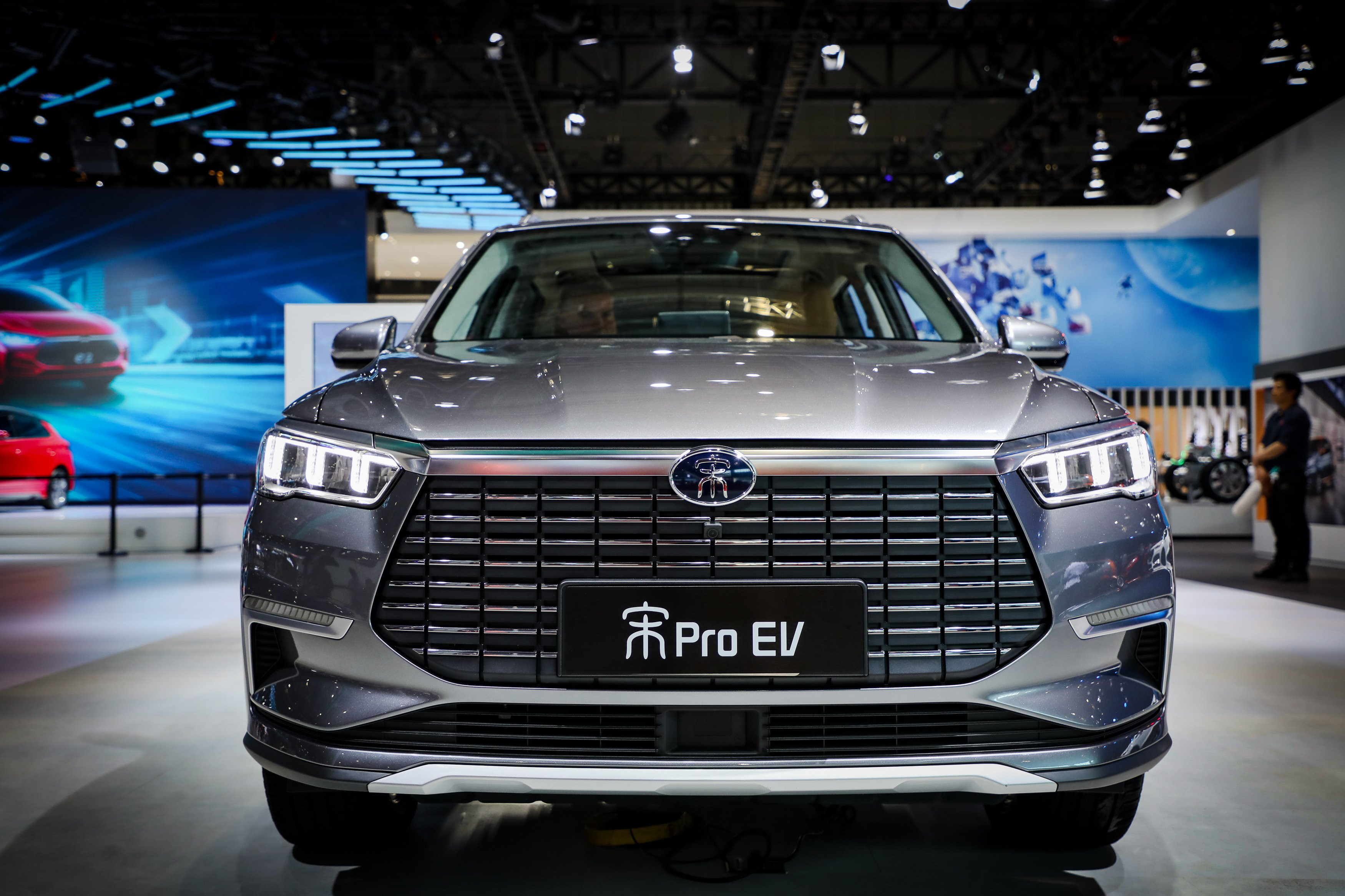 6 BYD Electric Vehicles At The 2019 Shanghai Auto Show