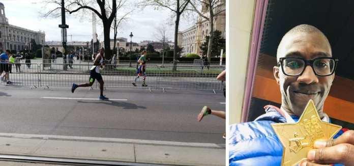 Chris Jackson at Vienna Marathon